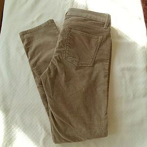 Banana Republic khaki courdoroy pants